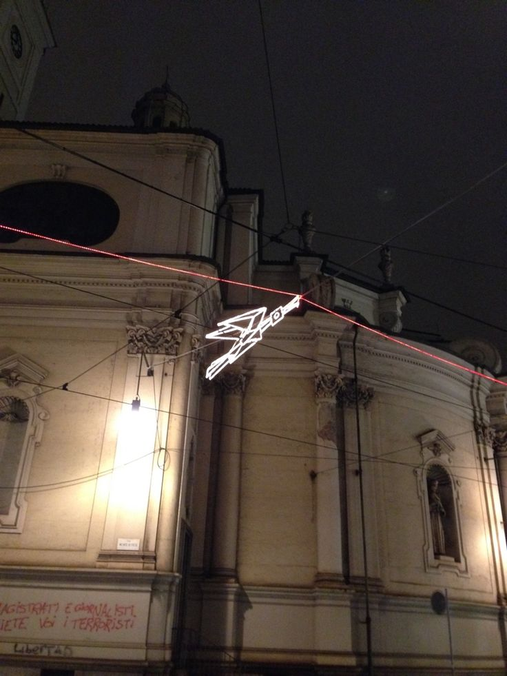 Volo su… di Francesco Casorati in via Pietro Micca e via Cernaia