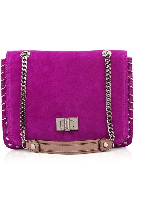 Emilio Pucci Woman Studded Cutout Plastic Shoulder Bag Pink Size Emilio Pucci 20Ko0c