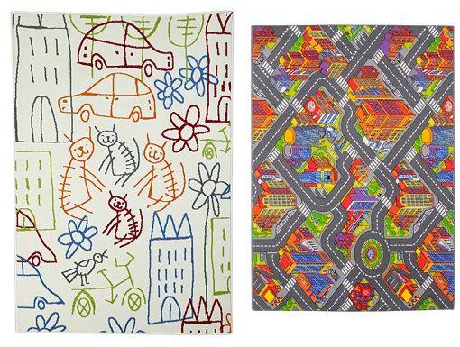 10 alfombras infantiles de Leroy Merlin para el dormitorio de los niños - unacasabonita
