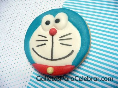 Galletas de Doraemon