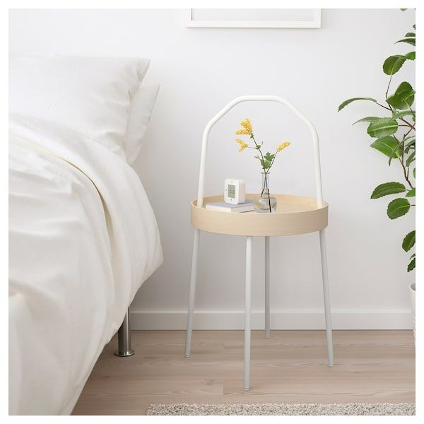 Burvik Side Table White 15 White Side Tables Ikea Side