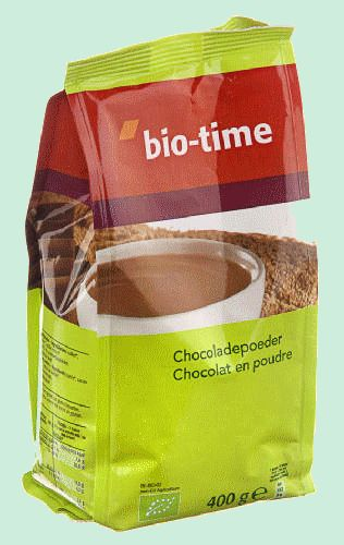 BIO-TIME chocolat en poudre 400gr