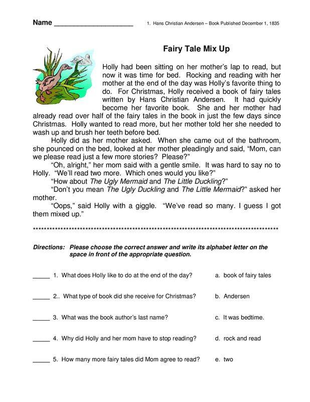 esl learners feel anxious when doing reading comprehension tests essay Practice for your test with reading comprehension practice test questions do you remember learning about the environment from a his books made people feel.