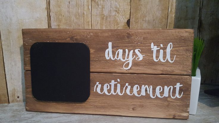 Countdown Calendar, Retirement countdown, wedding countdown, pregnancy countdown, days til retirement sign, days til wedding sign, countdown by Ajminteriors on Etsy