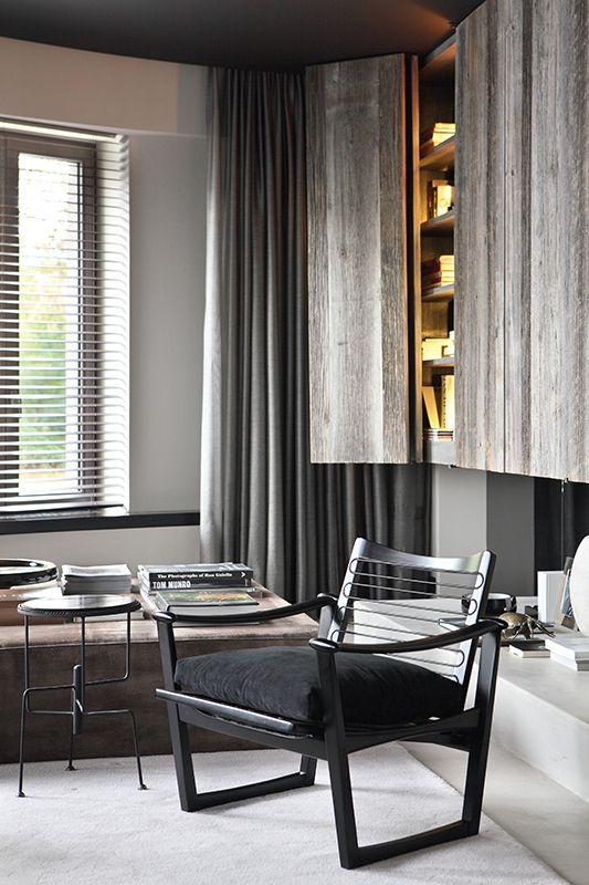 Grey Reading Room ByDavide Lovatti