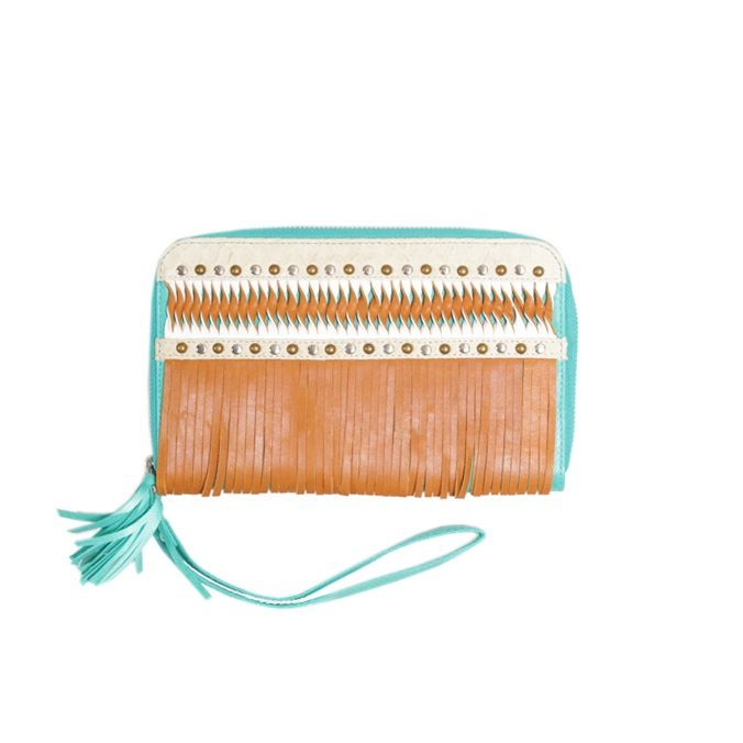 SIEMPRE LEATHER WALLET Lokoa Leather #festival #gypsy #boho #style