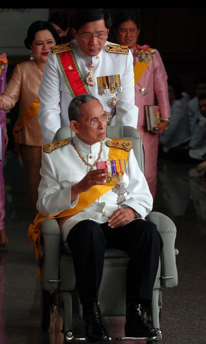 King Bhumibol died at age 88 on October 13.