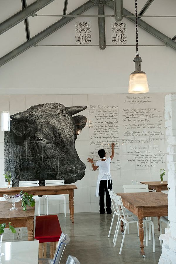 beautiful farm restaurant in south africa
