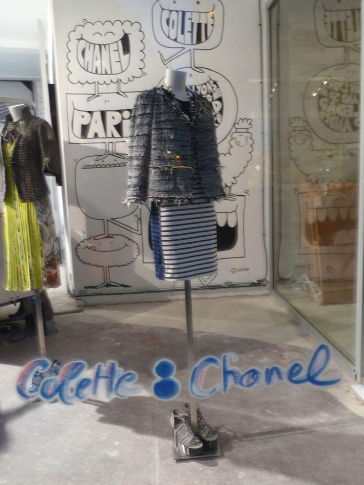 #Chanel+Colette POP UP Shop 2011