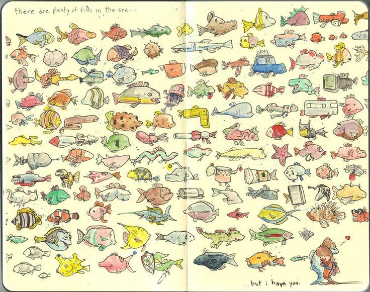 plenty of silverfish