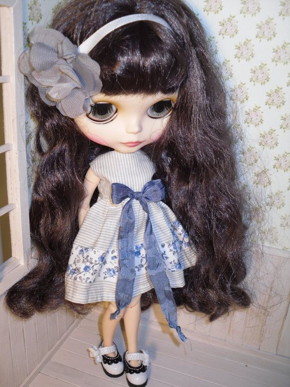 Dress for Blythe by LittleGiftCove on Etsy