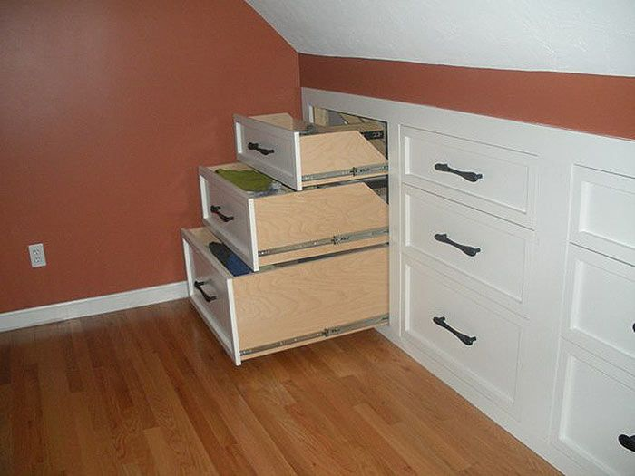 Awesome Idea For Rooms And Attics That Need To Conserve Space