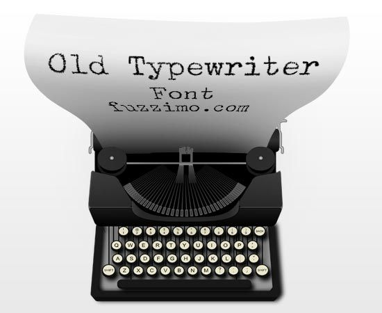 Old fashioned typewriter font download!! (this makes me super extra giddy)