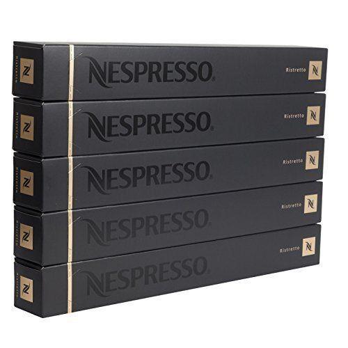 Nespresso: Ristretto, 50 Count - http://teacoffeestore.com/nespresso-ristretto-50-count/