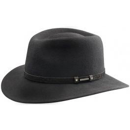 Sombrero Fedora Stetson Biscoe Marrón   #sombreros #hat #pingletonhats #cool #fashion #black #negro #cool #style #fashion #woman #man #formal #informal   http://www.pingletonhats.com/
