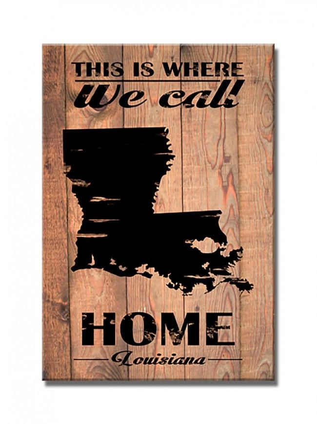 Louisiana Deer Map%0A Louisiana State Map on Barn Wood    x     American Made Vintage Retro Style  Patriotic