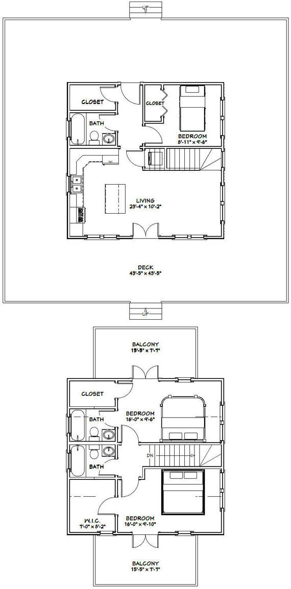 101 best images about tiny house floorplans on pinterest for 24x24 house plans with loft