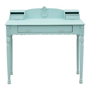 Sweet Elle Furniture - Mary Jane Writing Table, Ocean Aqua - Desks And Hutches