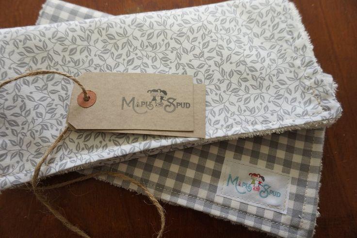 Organic Bamboo Burp Cloth