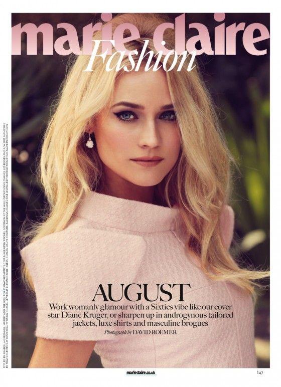 Diane Kruger Bikini | Diane Kruger, for Marie Claire (UK August 2013)!!!!! :