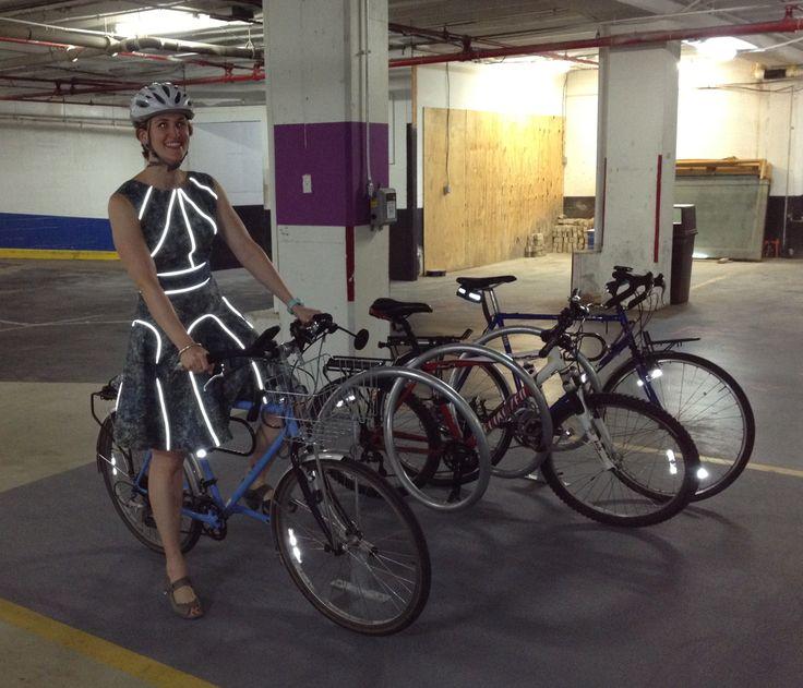 Reflective Bike Dress