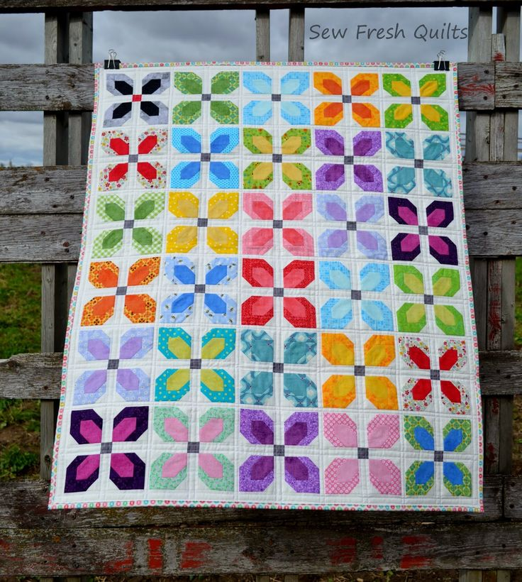 Sew Fresh Quilts: Little Blooms - Friday Finish