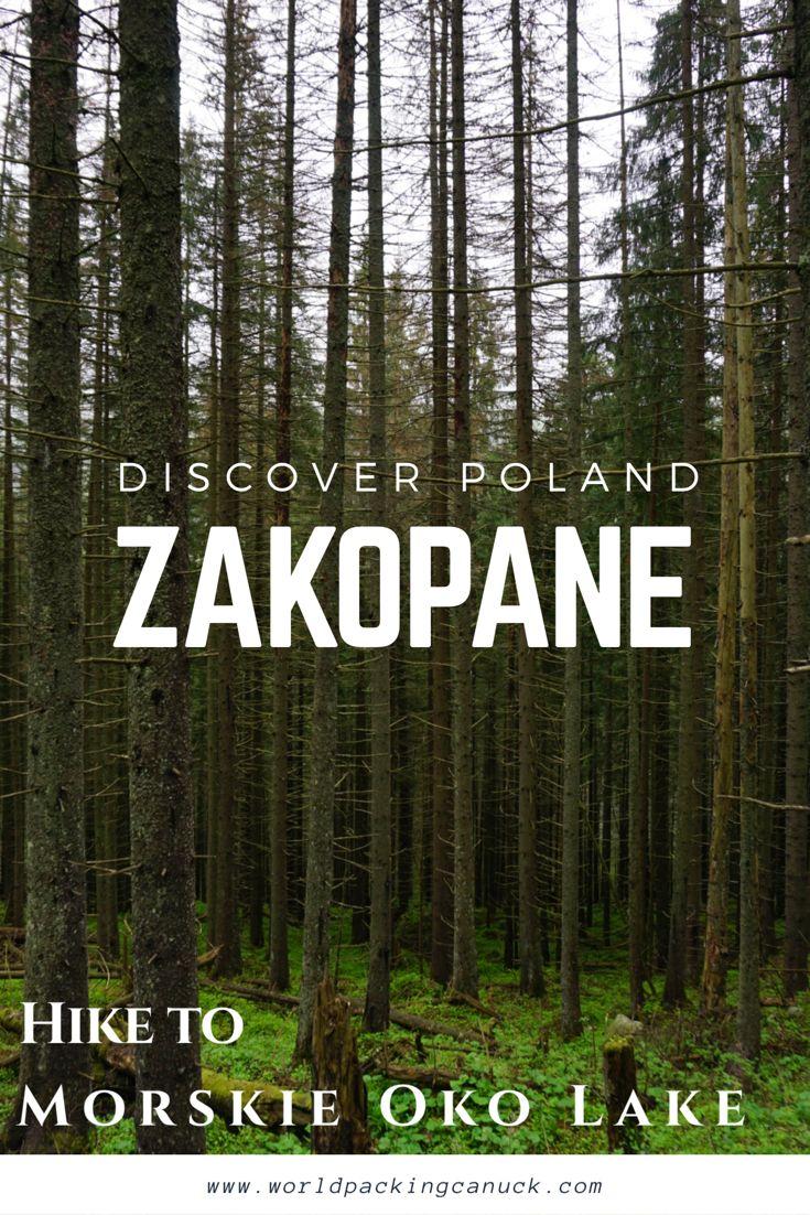 The beautiful Tatra mountains in Zakopane, Poland. A hike to visit Morskie Oko (sea eye) lake.