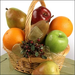 """This """"Thank You"""" Carebasket is sure to show your appreciation in nature's handcrafted way."""