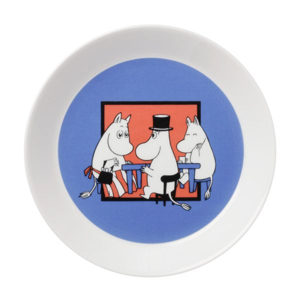 Together Moomin plate.