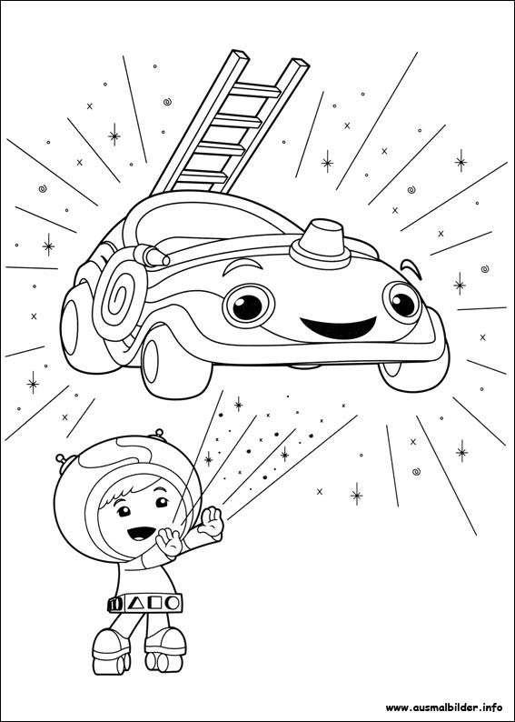 9 best Umizoomi Ausmalbilder images on Pinterest  Colouring pages