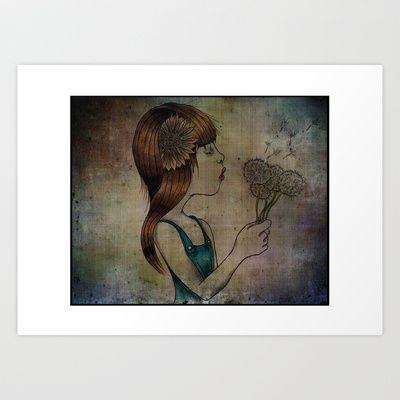 """""""Innocence"""" Art Print by Magdalena Sky - $22.88"""