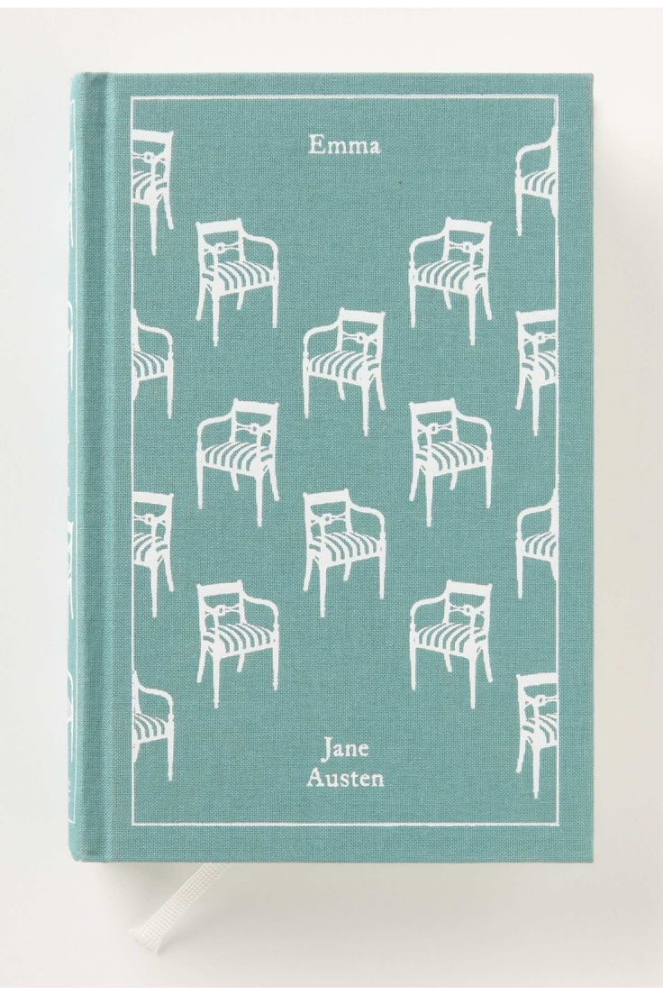 Emma by Jane Austen...love this edition and the cover fits perfectly!  guess I need to buy this edition, though I already have one of them.
