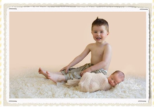 Siblings - newborn photography