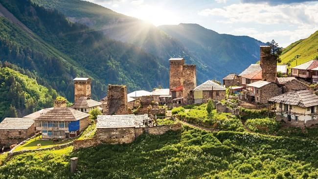 In the rugged and remote Caucasus mountains of Georgia live a tribe of people still follo