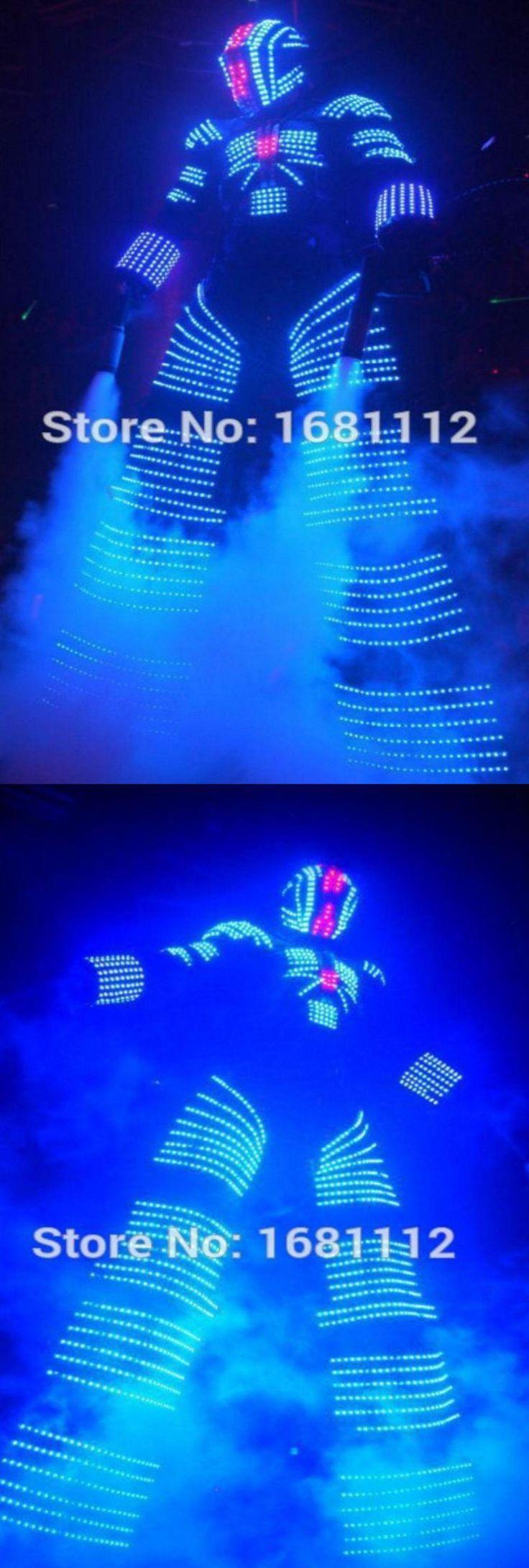 led robot  suit / l ed light suit /costume leds / luminous costumes / led lights costumes