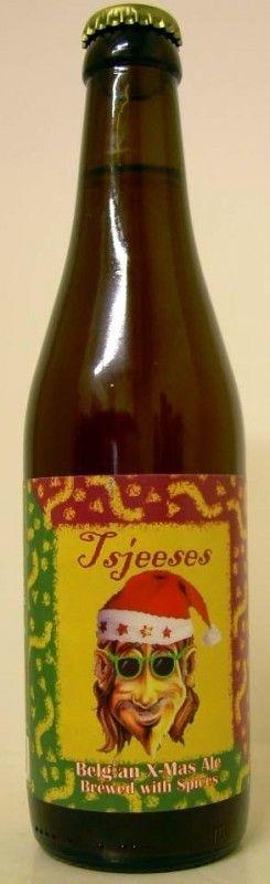 Cerveja Struise Tsjeeses Reserva (Bourbon Barrel Aged), estilo Belgian Pale Ale, produzida por De Struise, Bélgica. 10% ABV de álcool.