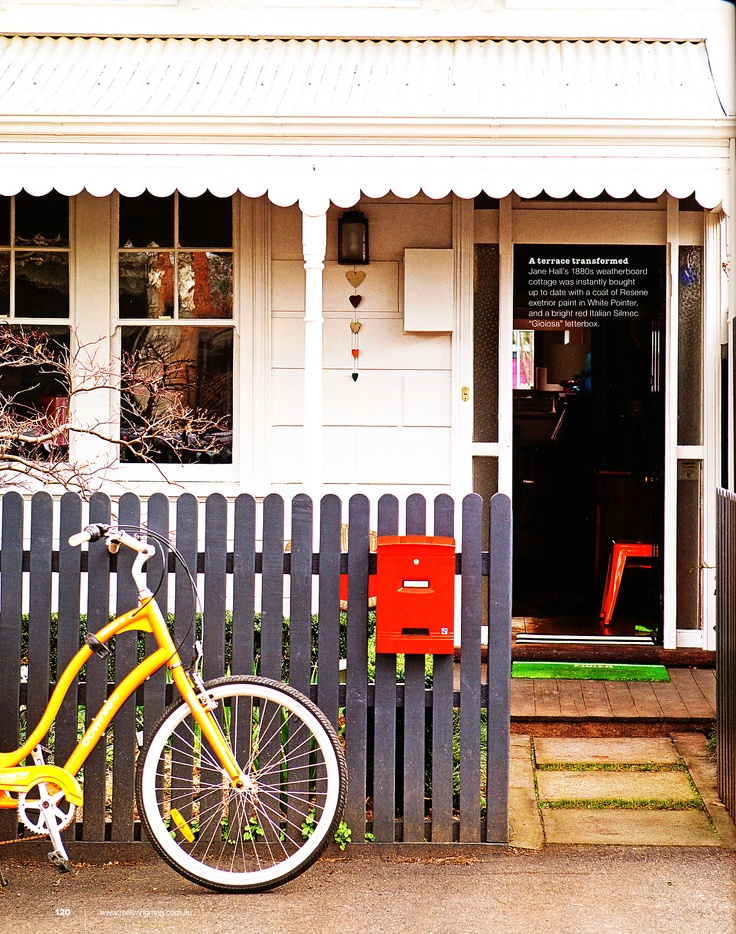 weatherboard cottage - north Melbourne -
