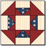 Need a Quilt of Valor block idea? Sew as many as you'd like; bring to the NW Quilting Expo in September! #nwqe #quilting #Portland