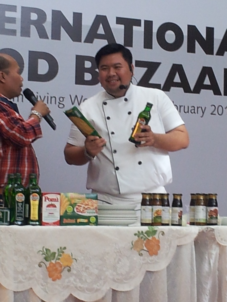 Chef Fahmi on IFF