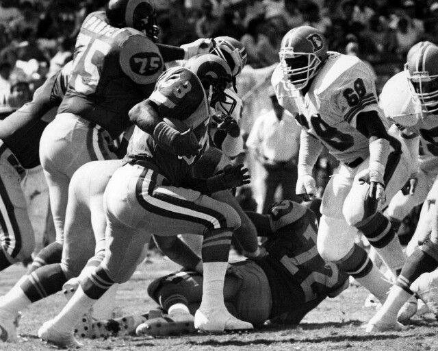 Denver Broncos DT Rubin Carter 1975