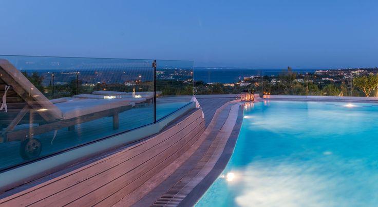 Enjoy #summer night by the #pool..! #PaliokalivaVillage