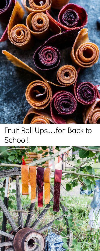 Fruit Roll Ups…for Back to School   halfbakedharvest.com @hbharvest
