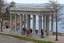 Plymouth Rock Monument, Massachusetts
