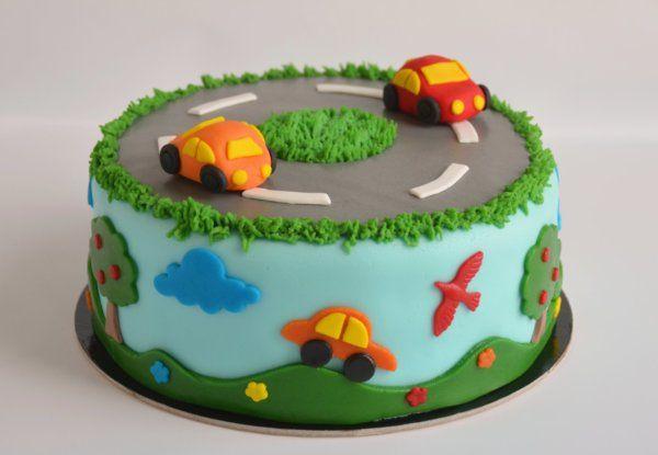 autós torta - autótorta ötletek és technikák, képes útmutató car cake tutorial