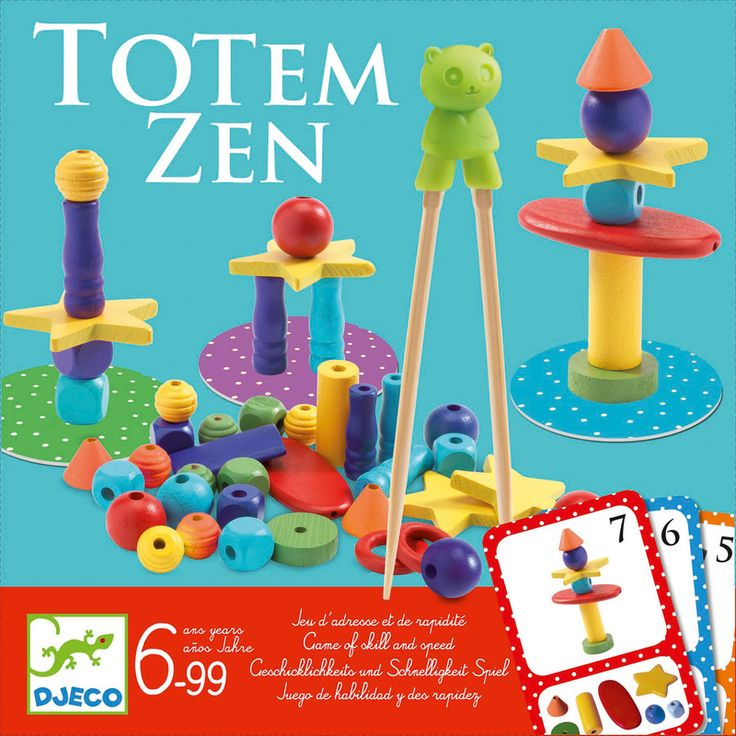 Djeco Totem Zen Game