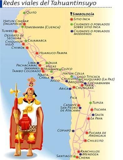 Los chasquis fueron mensajeros en el imperio incaico, formaron parte del sistema de comunicaciones del Imperio Inca, corrían por la red de los caminos inca a grandes velocidades.