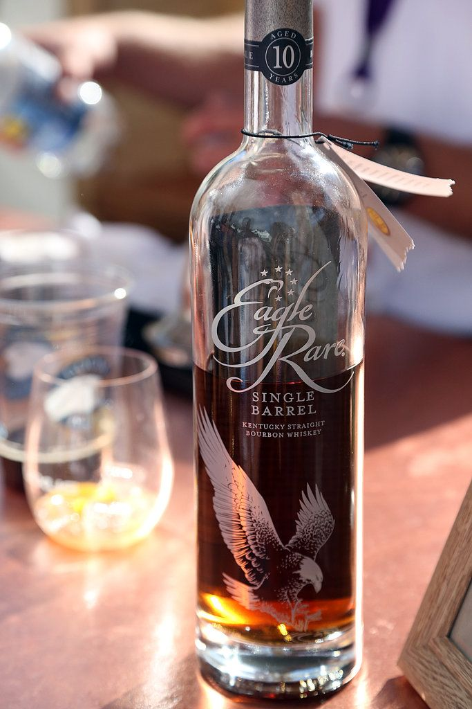 The 10-year-old Eagle Rare ($30) is simply bottled oak. This Winter-appropriate bourbon finishes with flavors like orange peel and spicy cinnamon. It seems like just the bourbon to drink in an Old-Fashioned.