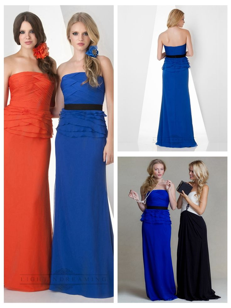 Strapless Criss Cross Shirred with Ruffled Bridesmaid Dresses  #wedding #dresses #dress #lightindream #lightindreaming #wed #clothing   #gown #weddingdresses #dressesonline #dressonline #bride  http://www.ckdress.com/strapless-criss-cross-shirred-with-ruffled-  bridesmaid-dresses-p-349.html