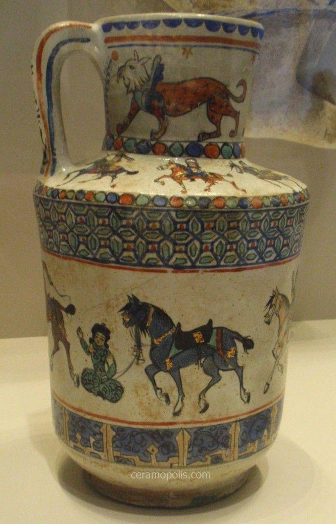 Iran Kashan (minai) 13th century– Pergamon Museum of Islamic Art Berlin