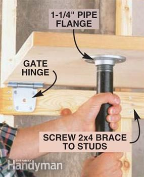 an extra work space - fold up table